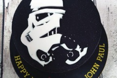 John Paul - Storm Trooper Birthday Cake