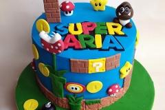 Aria - Super Mario Birthday Cake