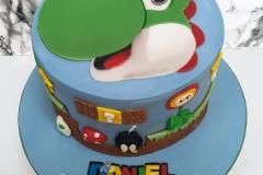 Daniel - Yoshi Birthday Cake