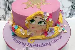 Olivia - Tangled Birthday Cake
