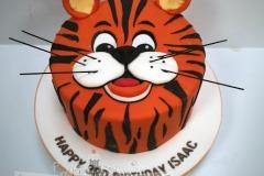 Isaac - Tiger Birthday Cake