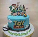 James - Toy Story Birthday Cake