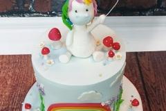 Talia - Unicorn First Birthday Cake