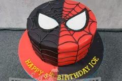 Joe - Spiderman (Venom) Birthday Cake