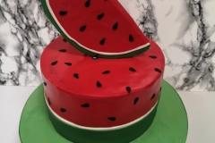 Freya - Watermelon Birthday Cake