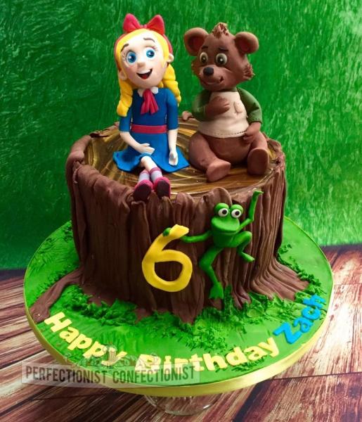 Goldilocks St Birthday Cake