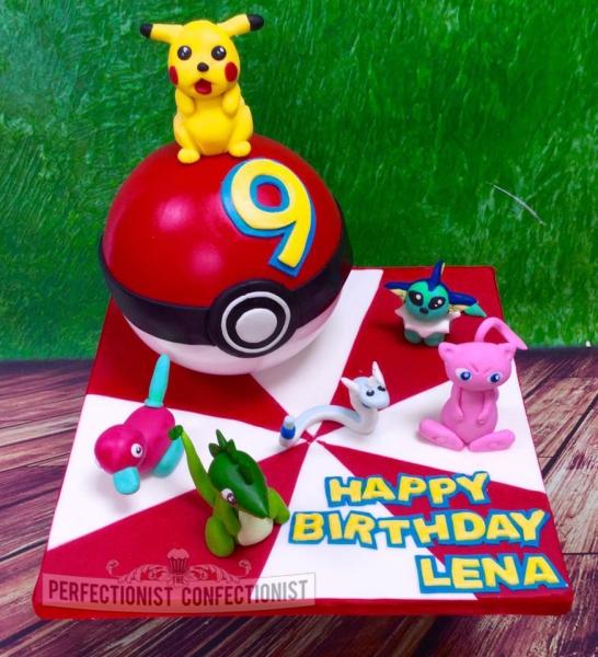 St Birthday Cake Pikachu