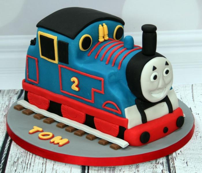 Thomas Engine Birthday Cake