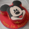 Conor - Mickey Mouse Birthday Cake
