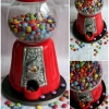 Bubblegum Machine Birthday Cake / Guess How many smarties cake