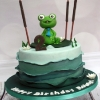 Robert - Frog Birthday Cake