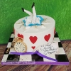 Maggie - Alice in Wonderland Birthday Cake
