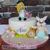 Alice - Alice in Wonderland first birthday cake
