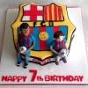 Barcelona FC - Birthday Cake