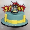 Evan - Batman Birthday Cake