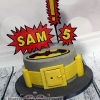 Sam - Batman Birthday Cake