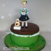 Paula - Irish Dancing Birthday Cake