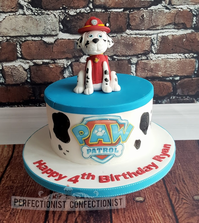 Ryan - Marshall Paw Patrol Birthday Cake