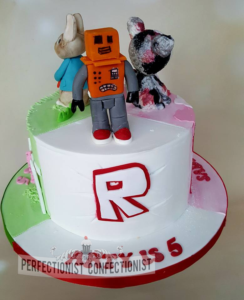 Arty - Roblox Birthday Cake