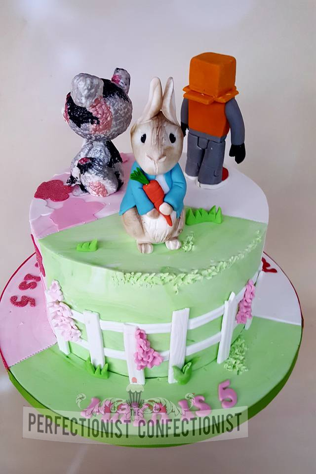 Maya - Peter Rabbit Birthday Cake