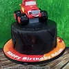 Adam - Blaze and the Monster Machines Birthday Cake