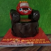 Eoghan - Blaze and the Monster Machine Birthday Cake