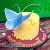 Avery - Butterfly birthday cake