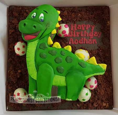 Aodhán - Dinosaur Birthday Cake