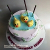 Isobel - Duck Birthday Cake
