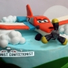 George - Dusty Planes Cake