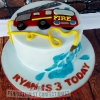 Ryan - Fire Engine Birthday Cake