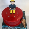 Toby - Fireman Sam Birthday Cake