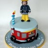 Rueben loves Fireman Sam - Birthday Cake