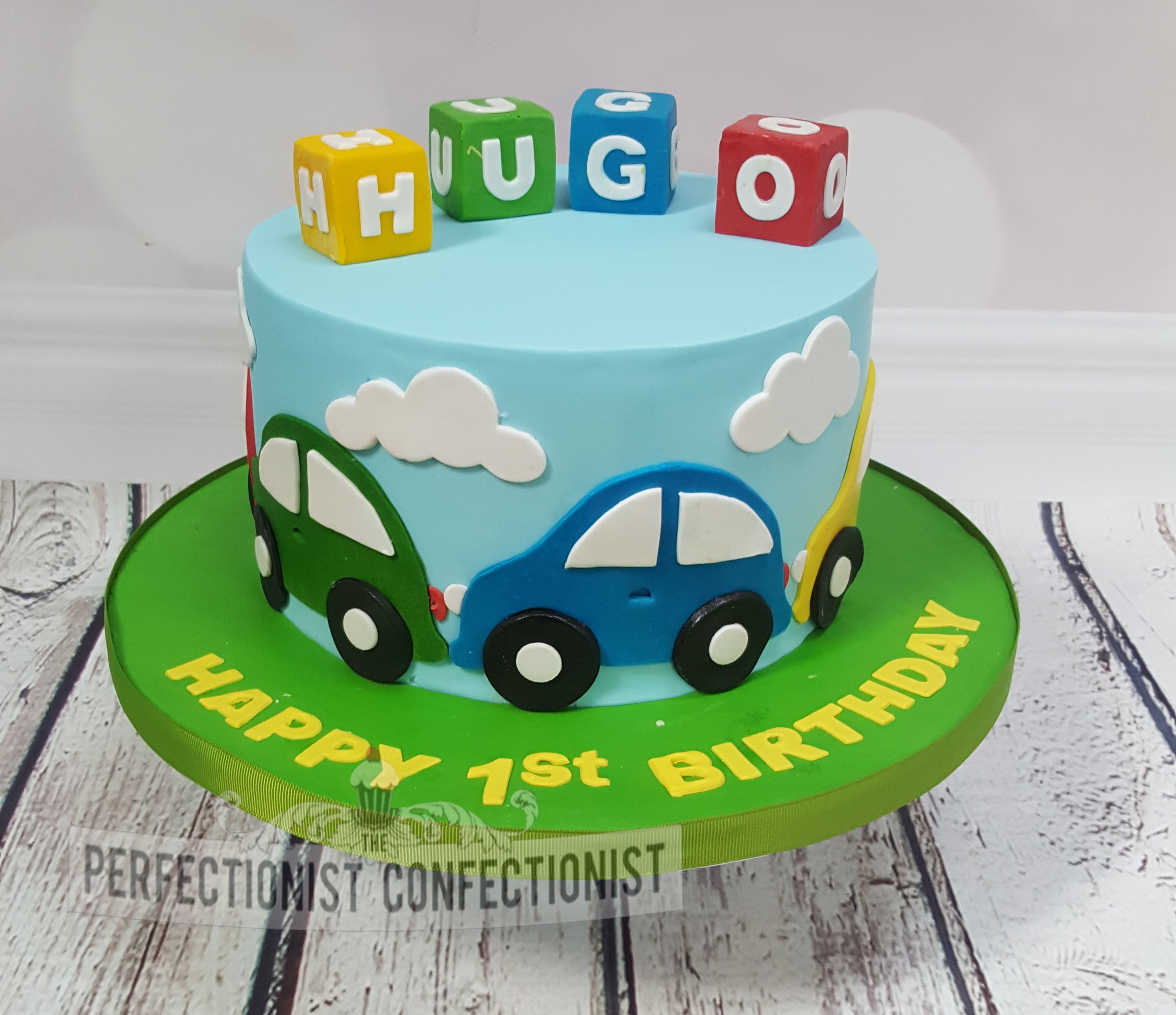 Hugo - First Birthday Cake