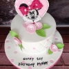 Maya - Minnie Mouse Birthday Cake