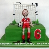 Dylan - Football Birthday CAke