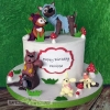 Philippa - Woodland Birthday Cake