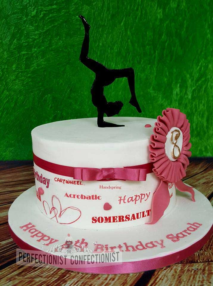 Sarah - Gymnast Birthday Cake