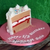 Mariam - Half Birthday Cake