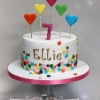 Ellie - Hearts Birthday Cake