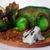 Zac - Triceratops Birthday Cake