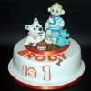 Brody and Angel - Birthday Cake