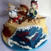 Harry -The Neverland Pirates Birthday Cake