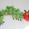 The Very Hungry Caterpillar Birthday Cup Cakes