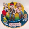 Charlotte - Jake and the Neverland Pirates Birthday Cake