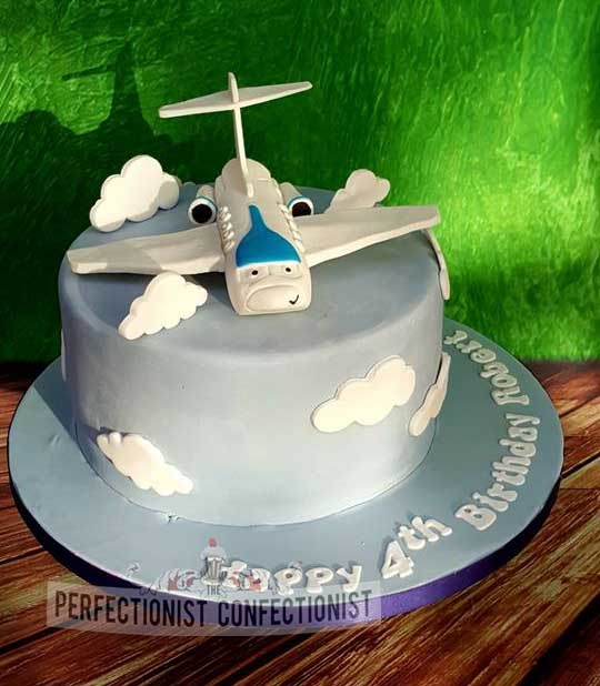 jRobert - Jeremy the Plane Birthday Cake
