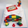 James - Lego Birthday Cake