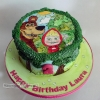 Laura - Masha and the Bear cake