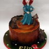 Merida from Brave - Birthday Cake