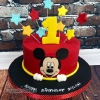 Dylan - Mickey Mouse 1st Birthday Cake